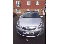 VAUXHALL CORSA 1.0 ENGINE, 2014 MODEL IN EXCELLENT AND PERFECT CONDITION FOR SALE