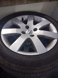 16 rims and tyres 4x108