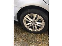 Mercedes wheels 205/55/16
