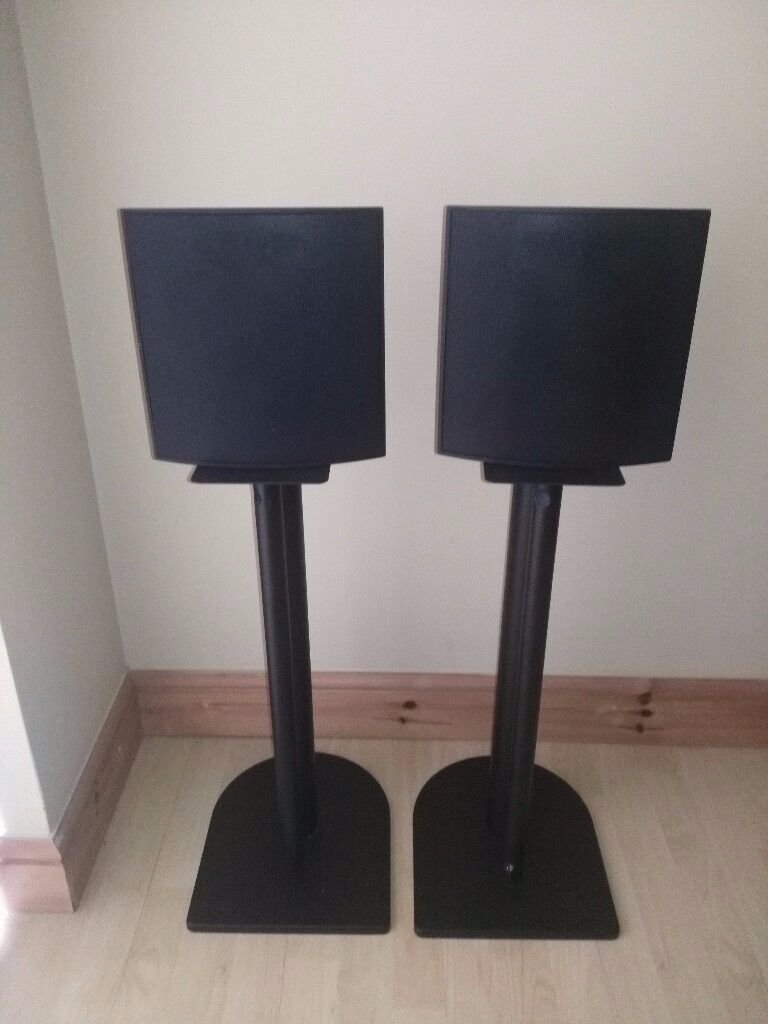 Linn 5110 Unik Wall Mounting Speakers w/ Stand (Fantastic Condition)
