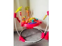 Girls almost new jumperoo