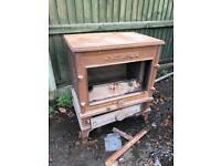 Very heavy log burner imort