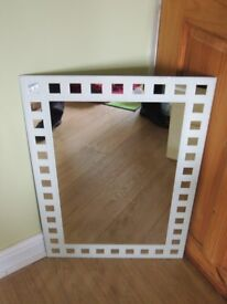 Three wall mounted bathroom mirrors (2 are tilit mirrors), all in very good condition