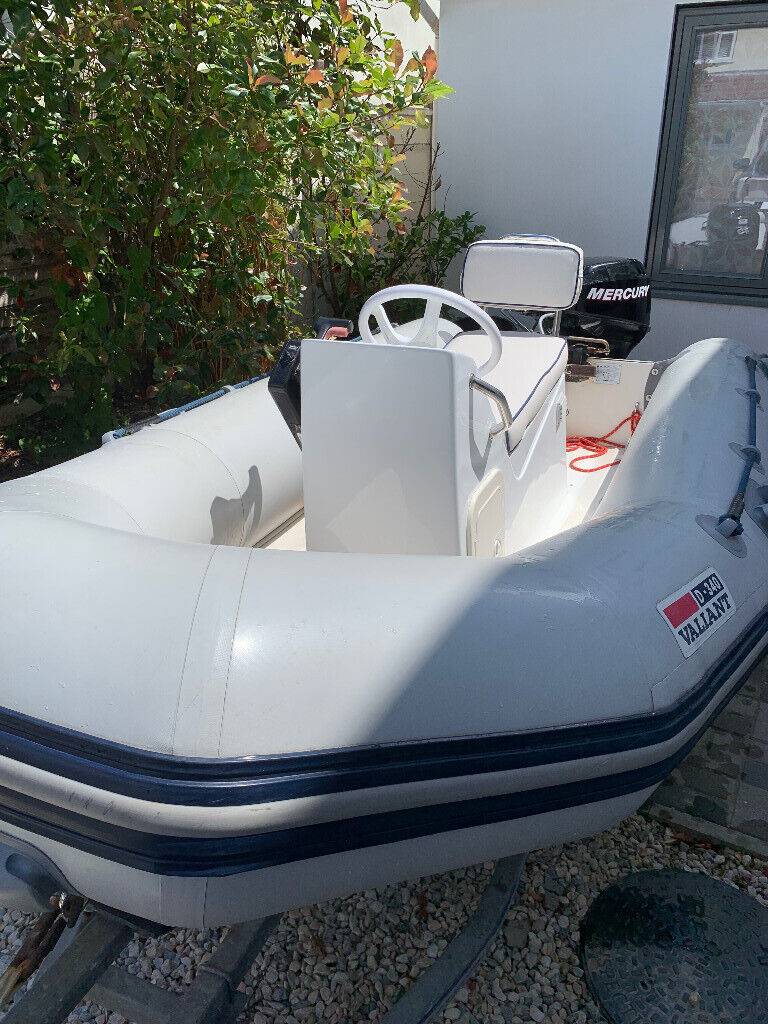 Fantastic RIB Boat for Sale with 15HP Mercury 4 Stroke and Power Trim   Bargin  | in Bournemouth, Dorset | Gumtree