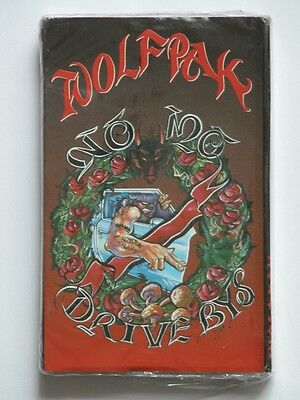 NOS Vtg WOLFPAK NO MO DRIVE BYS * MOVE AROUND Rap Cassette Tape SEALED