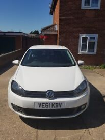 Cheap 2012 Volkswagen GOLF March 1.6TDI BlueMotion Tech with Full Service and Logbook Present