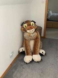 Free Big Leopard Cuddly Toy