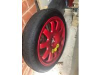 Spare F type tyre for sale!