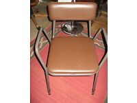 Adjustable Height Chair Commode