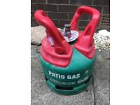 Small patio gas
