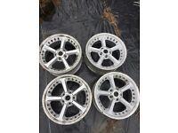 Bmw ac schnitzer alloy wheels