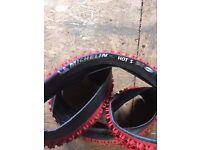 Michelin hot s bike tyres