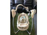 Grace recliner 3 way swing