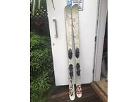 Karma Twin Tip Skis with Bindings