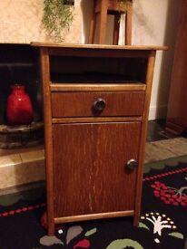 1950s Vintage Bedside Cabinet