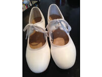 TAP SHOES WHITE