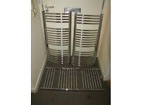 3xbathroom towel radiator