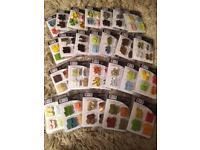Craft card making scrap booking brads snaps