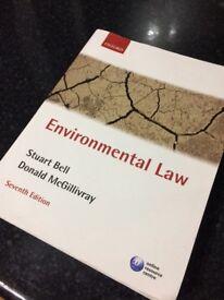 Environmental Law textbook