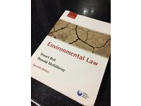 Environmental Law textbook