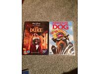 The Duke & Firehouse Dog DVDs