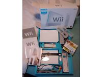 Wii Games console + extras