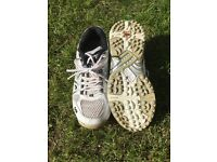 Junior CRICKET SHOES with spikes & WITHOUT SPIKES.