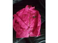 Girls Barbour Coat 8-9