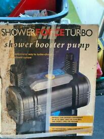 Shower boost pump