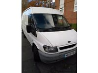 Ford transit lwb mid high roof 2003