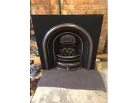 Gallery Lytton Cast Iron Fireplace Insert, Coal Effect Gas Fire