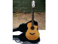 GORGEOUS MOONDOG MINT GRAND AUDITORIUM ACOUSTIC/ELECTRIC GUITAR WITH EMG PICK-UP