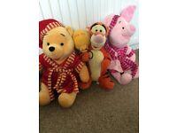 Winnie the Pooh soft toys