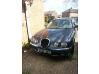 Jaguar S-type 3 litre (blown big ends) but in recoverable condition