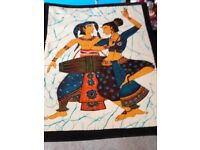 Lovely Eastern Stle Batik Fabric Picture