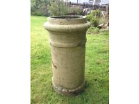 Vintage Victorian chimney pot. Could be used as a planter or pot holder.
