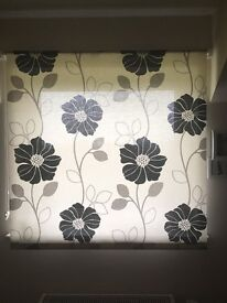 Matching blind and curtains