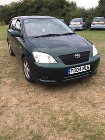 Toyota corolla 1.4 petrol manual