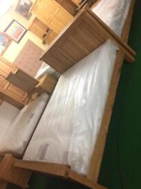 Solid oak beds all sizes