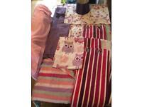 Bedroom Bundle curtains, voil, bedding Eccles