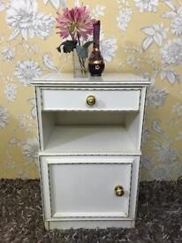 White colour bedside cabinet