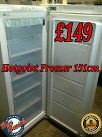 Tall Freezer Hotpoint 152cm White