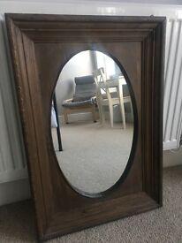 Wooden Homesense mirror