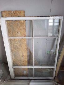 Sash window