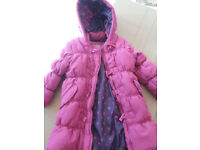 John Lewis Girls Coat age 4-5yrs