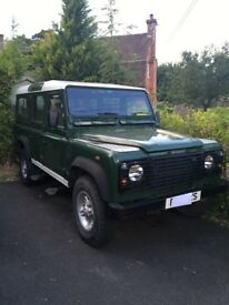 Land Rover Defender 110 TD5. Good condition 106,000 miles '51 reg.