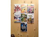 Nintendo wii games great condition