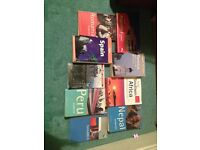 Job lot selection of World Travel Books