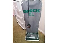 Oreck Xl upright hoover