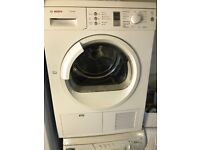 Bosch fully working new model timer display condenser dryer for sale